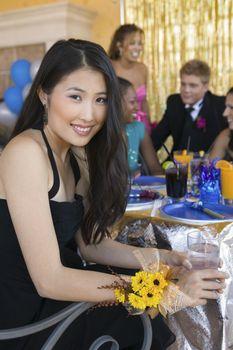 Teenage Girl at Party