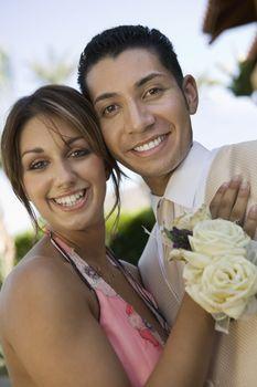 Happy Prom Couple