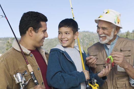 Family on Fishing Trip