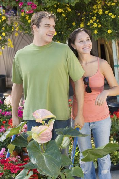 Gardening Couple