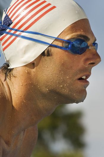 Competitive Swimmer