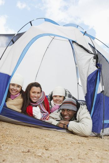 Friends on Camping Trip