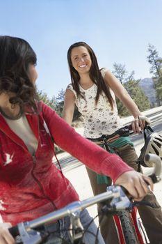 Two Friends Mountain Biking