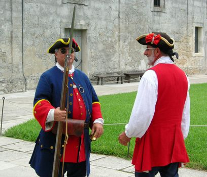 Spanish Colonial Soldiers
