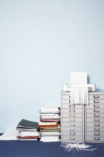 Shredder and Documents