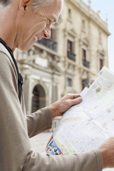 Tourist Reading Map