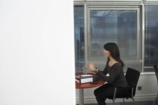Office Worker in Meeting