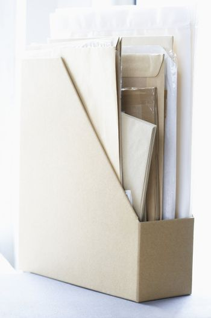 Magazine Holder with Documents