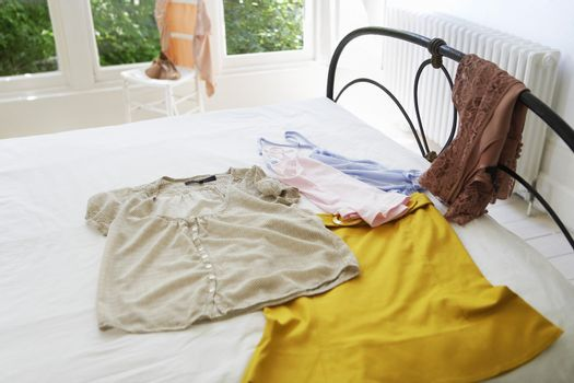 Outfit Laying Out on Bed
