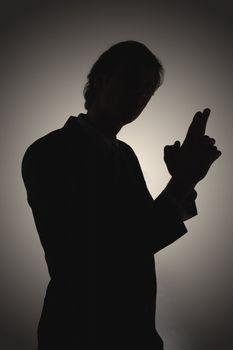 Shadowy Businessman