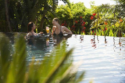 Woman in Pool