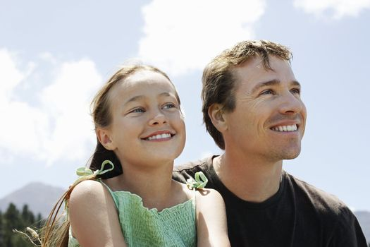 Father Spending Quality Time with Daughter