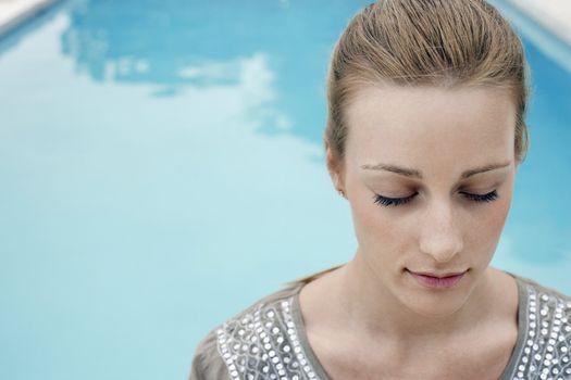 Women at Swimming Pool