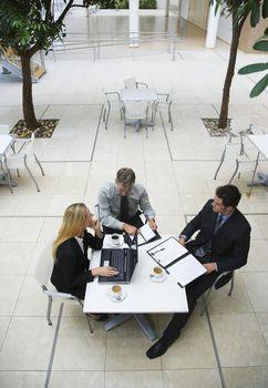 Businesspeople Working