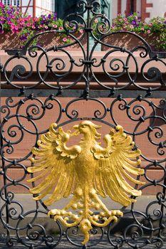 Stylized coat-of-arms of Frankfurt