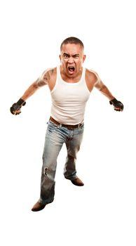 Mixed Martial Arts Man