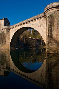 Roman bridge, Amarante, Portugal