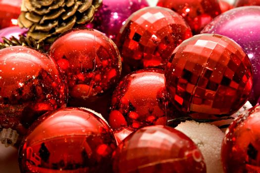 Christmas Balls close-up