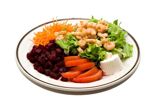 Healthy food - Shrimp Salad