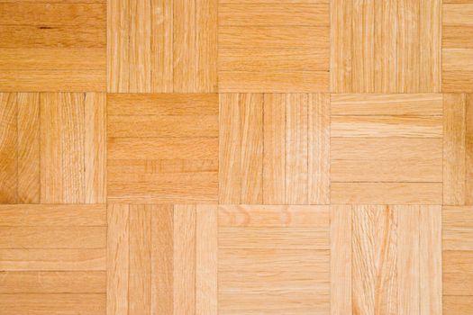 Parquet floor texture close-up