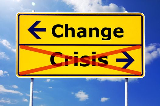 change and crisis