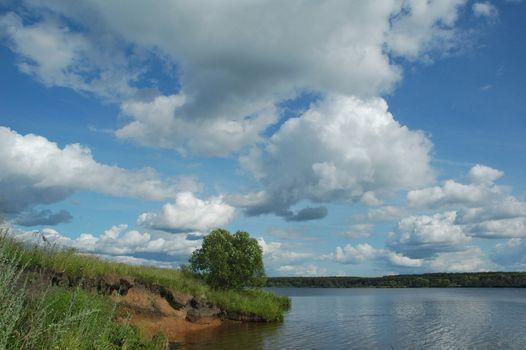 volga river, Tverskaya area