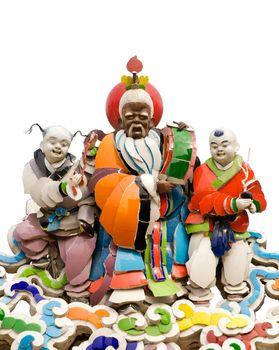 Oriental vivid god