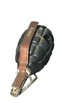 Manual grenade of an epoch of the Second World War