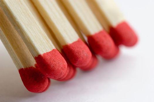 Matches macro shot