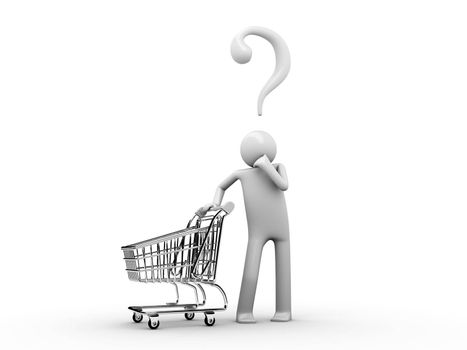 Customer's choise: what do I want to buy today?