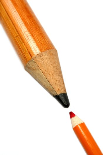 Opposition of a small and greater pencil