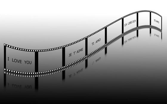 written film with you in five languages diversre