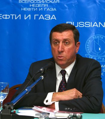 "Vice-president of company ""Rosneft"" Sergey Oganesjan"