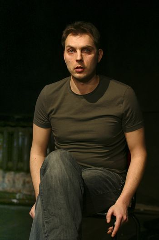 "Performance ""September.doc"" director Michael Ugarova. In a picture: Ruslan Malikov"