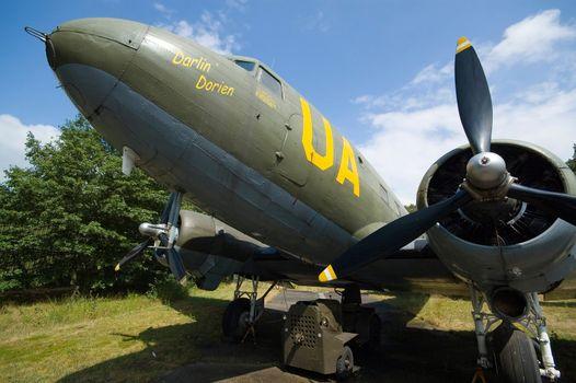 Dakota airplane from World War II