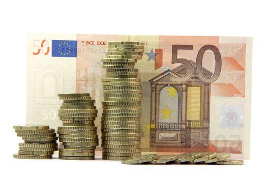 european money isolated