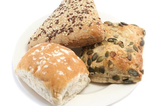 Bread Roll Selection - Closer
