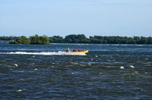 Jet boating adventure