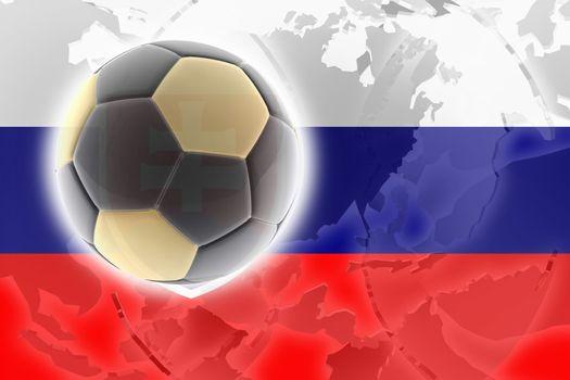 Flag of Slovakia, national country symbol illustration sports soccer football