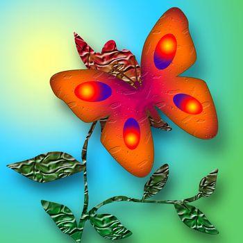 Sunny Butterfly