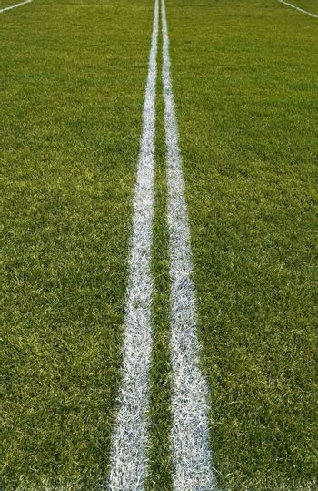 Boundary lines of a playing field