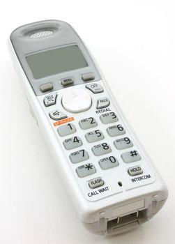 White portable home phone