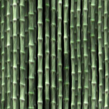 Bamboo plant stems vegetation seamless background wallpaper