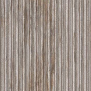 Corrugated metal ridged surface with corrosion seamless texture