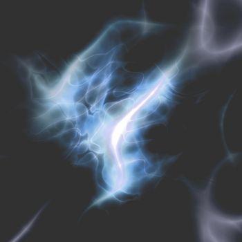 Energy aura glow abstract graphic design illustration