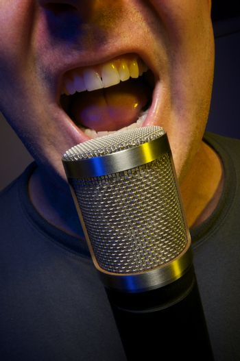 Passionate Vocalist & Microphone