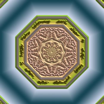 Mandala Eastern abstract design geometric pattern clipart design