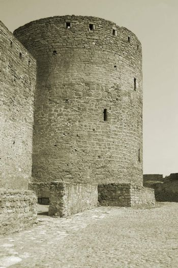 Citadel in a fortress of the ancient city of Akkerman