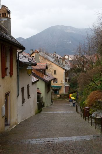 Walkway at Annecy town