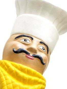 ceramic chef head